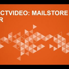 Email Archiving with MailStore Server