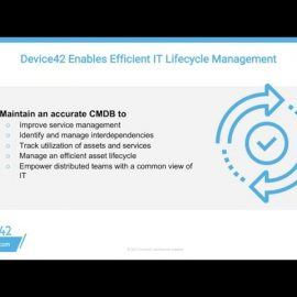 Device42 Life Cycle Review part 1